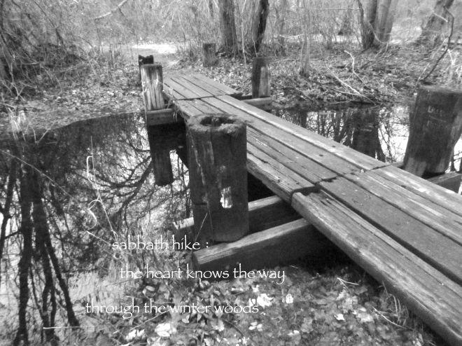 Footbridge in the Woods © 2014 Wabi Sabi